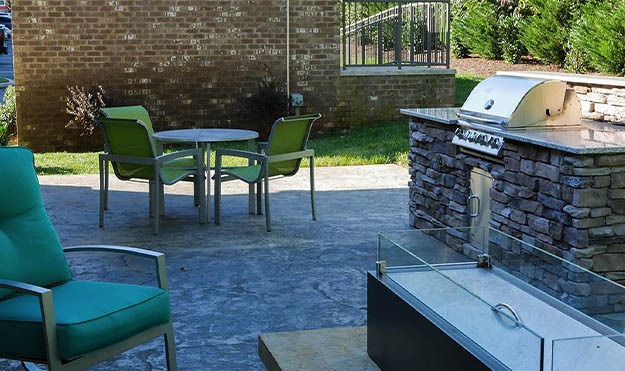 Outdoor, Stainless-Steel Gas Grill